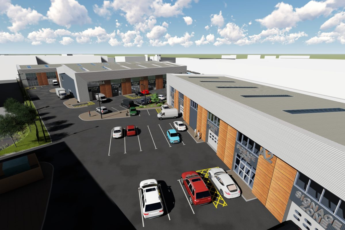 A new build, mixed use business park suitable for a variety of tenants.